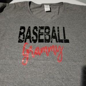 3x Ladies V-Neck Baseball Grammy Shirt